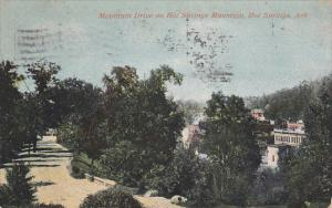 Mountain Drive on Hot Springs Mountain, HOT SPRINGS, Arkansas, PU-1913