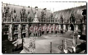 Old Postcard Rouen Courthouse view & # 39ensemble Justice Palace general view