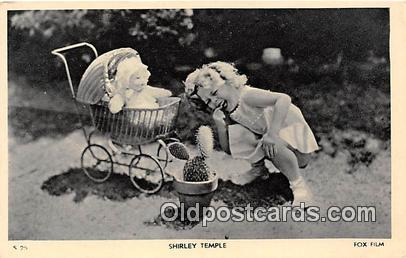 Shirley Temple Postcard S 25 Shirley Temple