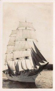 LP31 Sailing Ship Postcard RPPC Sorlandet