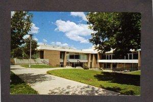 WI University of Wisconsin Platteville Student Center Postcard
