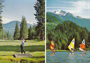 Canada Golf and Sailing at Whistler British Columbia