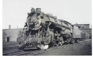 Lackawanna 1131 Locomotive Wide Fire Box Pacific Postcard