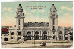 Worcester, Mass, Million Dollar Union Station