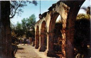 San Juan Capistrano CA - Arches at the  Misson, 1960s
