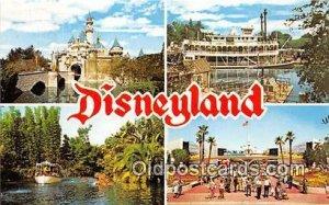 Sleeping Beauty Castle Disneyland, Anaheim, CA, USA Unused