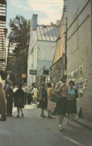 QUEBEC CITY , Quebec , Canada , 1950-60s ; Rue Du Tresor
