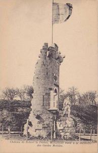 Chateau De Robert Le Diable, Monument Eleve A La Memoire Des Gardes Mobiles, ...