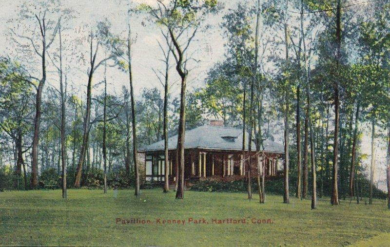 HARTFORD, Connecticut, PU-1912; Pavilion, Kennedy Park
