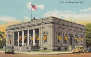 Indiana Peru Post Office 1953 Curteich