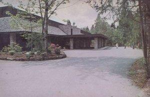 Jehovah's Witness Assembly Hall Entrance Grounds Washington Postcard