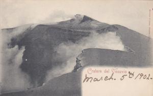 Cratere del Vesuvio , Italy , 1902 [Volcano]