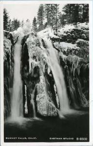 CA - Burney Falls    *RPPC