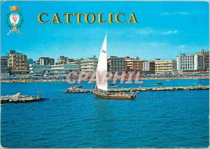 Postcard Modern Cattolica (Italy) General view to the sea