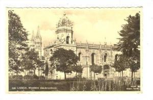 Lisboa , Portugal , Mosteiro dos Jeronimos , PU-1936