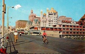 New Jersey Atlantic City Boardwalk Scene