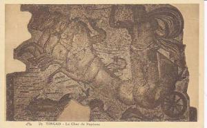 Le Char De Neptune, Timgad, Algeria, Africa, 1900-1910s