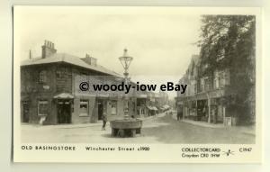 pp1483 - Hants - Basingstoke, Winchester St. & Fountain, c1900 - Pamlin postcard