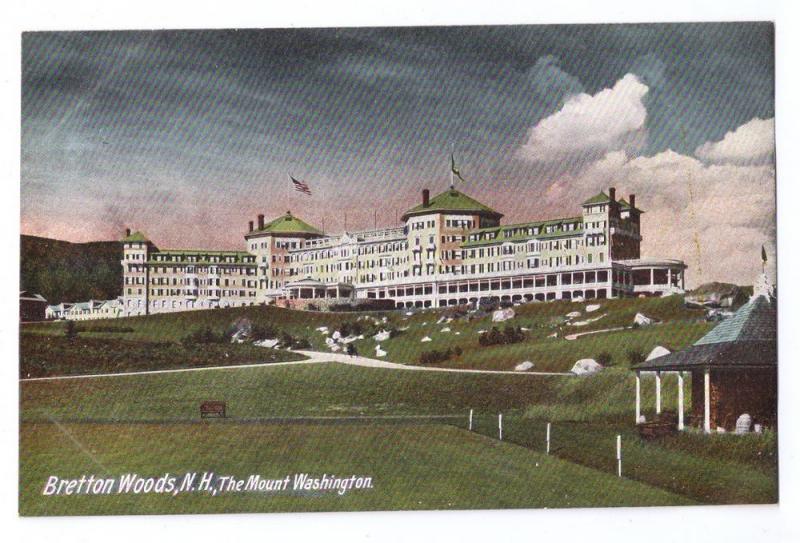 Bretton Woods The Mount Washington White Mountains NH 1906