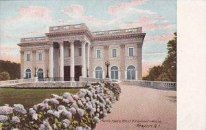 Rhode Island Newport Marble Palace Mrs O H P Belmonts House