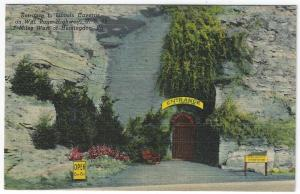 Huntington, Pennsylvania, Early View of Entrance to Lincoln Caverns
