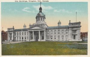 KINGSTON , Canada , 1910-30s ; City Buildings