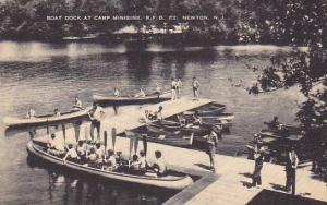 Boat Dock at Camp Minisink, R.F.D. #2, Newton, New Jersey, 00-10s