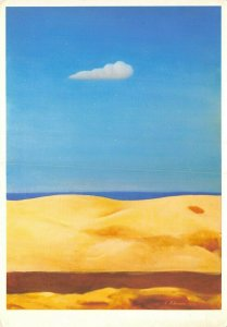 Art Postcard, Dunes (1972) by Ludwig Schwerin BA2