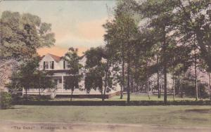 Hand-colored, The Oaks, Built for James W. Tufts, Founder, Pinehurst, North...