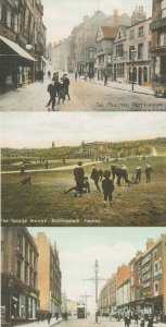 Nottingham Children Parade Ground Milton Street 3x Postcard s