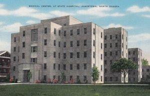 JAMESTOWN, North Dakota , 1930-40s ; Medical Center at State Hospital