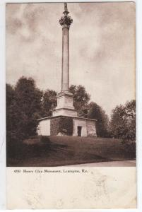 Henry Clay Monument, Lexington KY