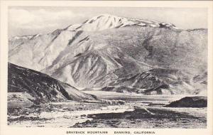 Grayback Mountains Banning California Albertype