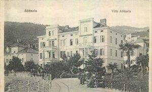 Postcard Croatia Abbazia Villa Abbazia