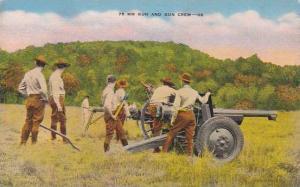 75 MM Gun & Gun Crew