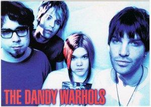 The Dandy Warhols Band Portrait Postcard