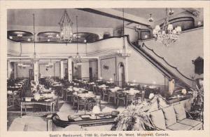 Scott's Restaurant , MONTREAL , Quebec , Canada , 20-30s