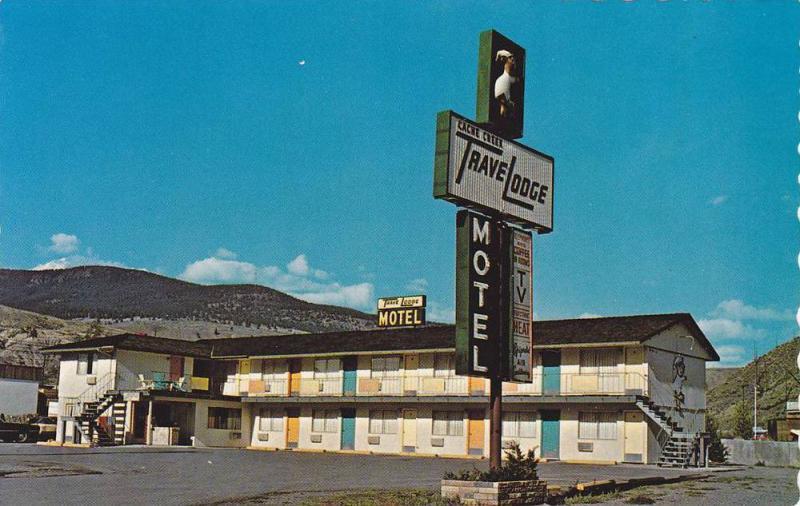 Travelodge Motel, At the Gateway to the Histroric Cariboo, Coche Creek, Bri...