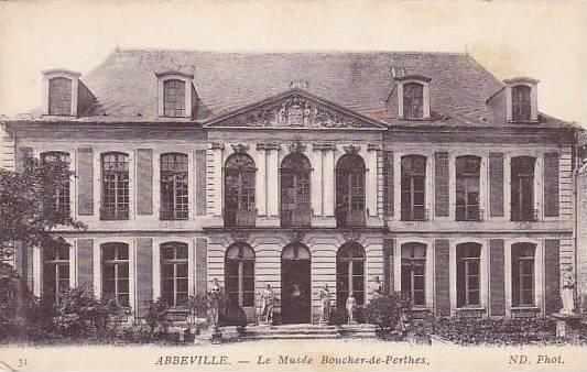Le Musee Boucher-de-Perthes, Abbeville (Somme), France, 1900-1910s