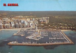Spain Puerto Deportivo El Arenal Mallorca, Harbour Bateaux Port Panorama