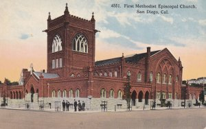 SAN DIEGO, California, 1900-10s; First Methodist Episcopal Church