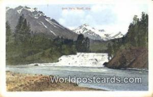 Canada Banff, Alta Bow Falls