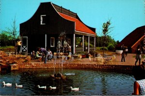 Michigan Holland Outdoor Cafe At The Dutch Village