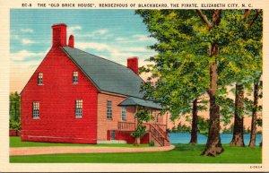 North Carolina Elizabeth City Old Brick House Rendezvous Of Blackbeard The Pi...