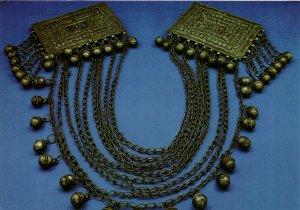PC CPA SAUDI ARABIA, ARABIAN BEDOUIN HEAD-DRESS ORNAMENT, (b15920)