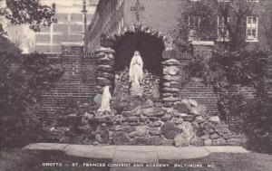 Baltimore Grotto Saint Frances Convent And Academy