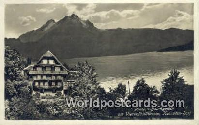 Kehrsiten Dorf Swizerland, Schweiz, Svizzera, Suisse Pension Baumgarten Kehrs...