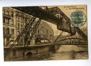 191628 GERMANY ELBERFELD Suspen Railway Hotel Victoria RPPC