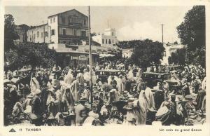 Tanger Morocco grand Socco market
