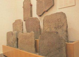 Eight Gravestones Found at Great Bulmore Welsh Postcard
